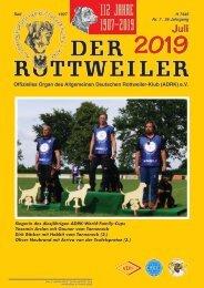 Der Rottweiler - Ausgabe Juli 2019