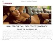 +91-8800668123 High Profile Independent Call Girls, Delhi Escorts