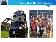 Party Bus Rental Austin