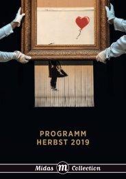 Programm Midas Collection Herbst 2019