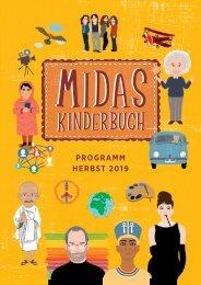 Programm Midas Kinderbuch Herbst 2019