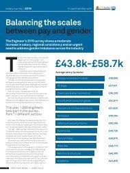 Engineering Salary Survey 2019 Report