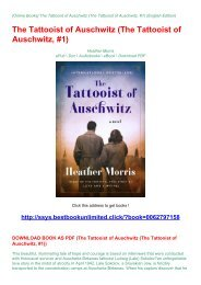 DOWNLOAD BOOK AS PDF (The Tattooist of Auschwitz (The Tattooist of Auschwitz,