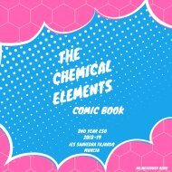 The Chemical Elements. Comic Book