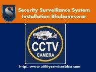 Security Surveillance System Installation in Bhubaneswar