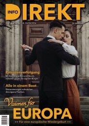 Info-DIREKT, Ausgabe 26: Visionen für Europa