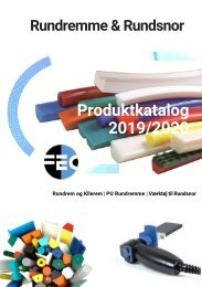 Produktkatalog - Rundremme, PU Kileremme & Rundsnor - fecconsulting.dk