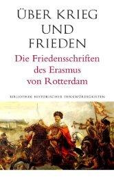 Über Krieg und Frieden von Erasmus von Rotterdam