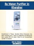 Best Water Purifier In Mumbai - Page 5