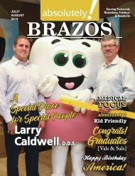July/August 2019 - Absolutely Brazos Magazine