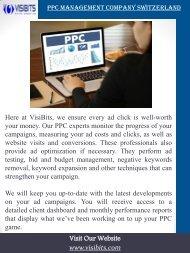 PPC Management Company Switzerland