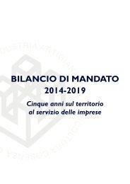 Bilancio di Mandato - 2014|2019
