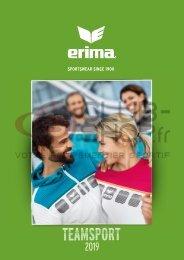 Catalogue Erima Teamwear 2019 chez votre équipementier sportif CLUB-SHOP.FR