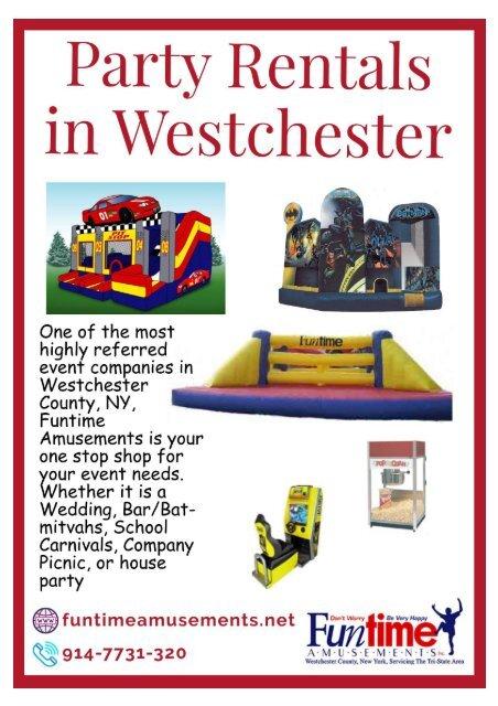 Party Rentals in Westchester