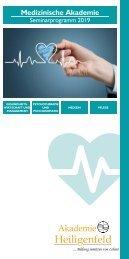 Akademie Heiligenfeld - Medizinprogramm 2019