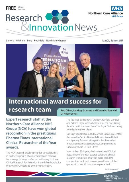 Research & Innovation Newsletter Summer 2019