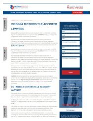 Motorcycle Accident Lawyer Virginia
