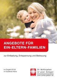 Angebote für Ein-Eltern-Familien