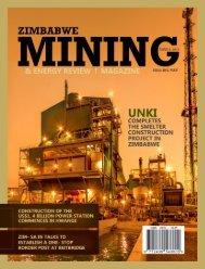 Zimbabwe Mining & Energy Review Magazine Q2 2019