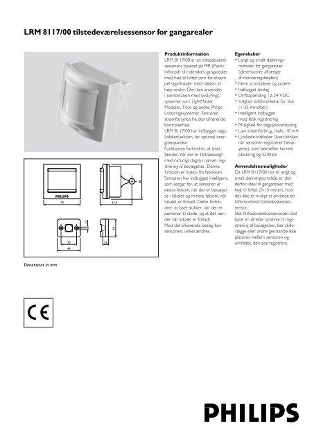 Flere informationer (datablad) - Philips Lighting
