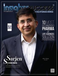The 10 Most Recommended Pharma & Life Sciences Solution providers in 2019