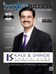 The Influential Law Firms in Maharashtra 2019