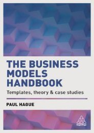 DOWNLOAD PDF The Business Models Handbook: Templates, Theory and Case Studies | FULL+ONLINE