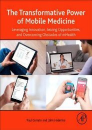 PDF DOWNLOAD The Transformative Power of Mobile Medicine: Leveraging Innovation, Seizing Opportunities and Overcoming Obstacles of Mhealth | FULL+ONLINE