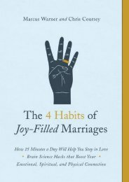 PDF DOWNLOAD The 4 Habits of Joy-Filled Marriages: How 15 Minutes a Day Will Help You Stay in Love | FULL+ONLINE