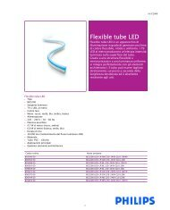 Flexible tube LED - Philips Lighting