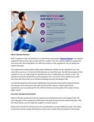 Element Life Keto Pills - Easy Way To Conquer Weight Loss 2019?