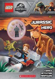READ PDF Jurassic Hero (LEGO Jurassic World: Activity Book with Minifigure) | FULL+ONLINE