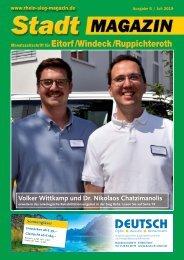 Stadt-Magazin Eitorf, Windeck, Ruppichteroth - Juli 2019