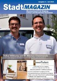 Stadt-Magazin Siegburg, Lohmar, Neunkirchen-Seelscheid - Juli 2019