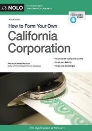 PDF DOWNLOAD How to Form Your Own California Corporation | FULL+ONLINE