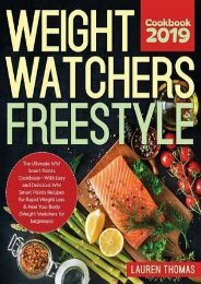 DOWNLOAD PDF Weight Watchers Freestyle Cookbook #2019: The Ultimate WW Smart Points Cookbook -With Easy and Delicious WW Smart Points Recipes for Rapid Weight Loss & Heal Your Body (Weight Watchers for beginners) | FULL+ONLINE
