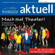 Bayreuth Aktuell Juli 2019