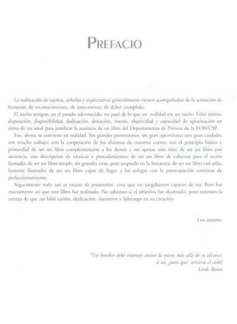 PROTESIS FIJA  LIBRO AUTOR PEGORARO