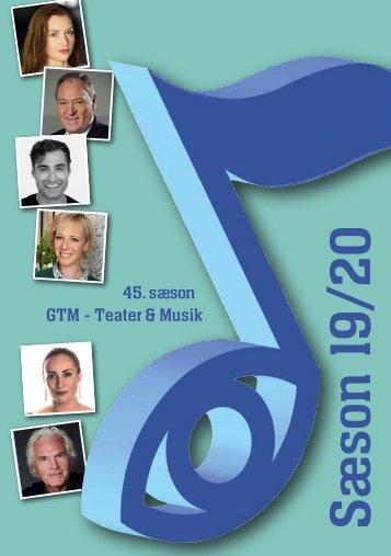 Gundsø Teater- og Musikforening sæsonprogram 2019-20