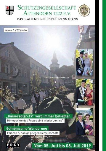 Schützenfestbeilage Attendorn 2019
