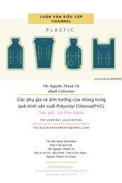 Các phụ gia và ảnh hưởng của chúng trong quá trình sản xuất Polyvinyl Chlorua(PVC)