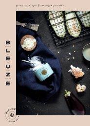 Fine food product catalogus Bleuzé 2019-2020