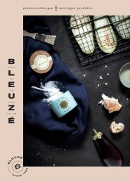 Fine food product catalogus Bleuzé 2019-2020