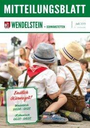 Wendelstein + Schwanstetten Juli 2019