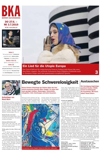 Berner Kulturagenda N°25