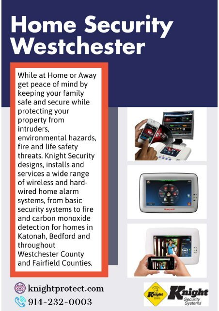Home Security Westchester