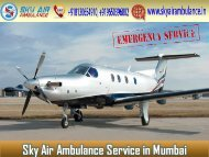 Pick the Best and Affordable Air Ambulance in Mumbai