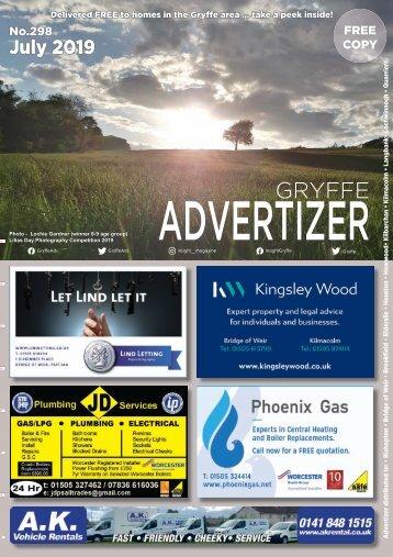 298 JULY 19 - Gryffe Advertizer