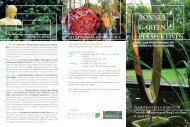BONNER GARTEN - Terramanus Landschaftsarchitektur