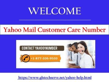 Troubleshoot Yahoo Technical Glitches At Yahoo Customer Care Number